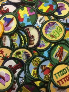 Retired juniors badges