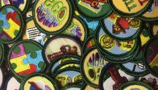Retired Girl Scout Badges