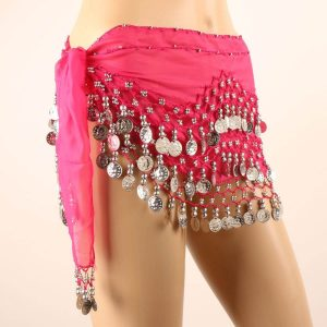 Youth belly dancing skirt
