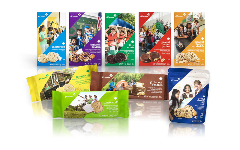 Girl Scout Cookie banner
