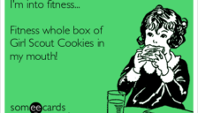 Fitness whole cookie box