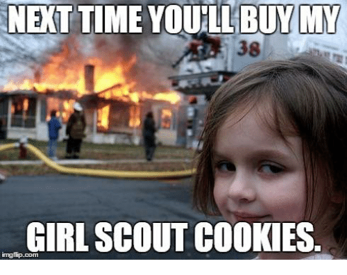 girl scout house on fire